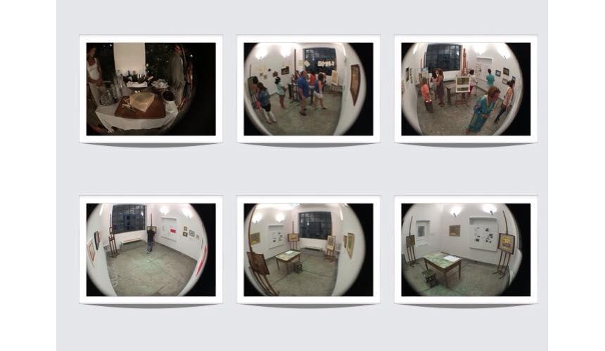 Views of the exhibition (photos by Chloe Akrithaki)